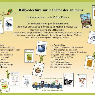 Rallyelectureanimaux